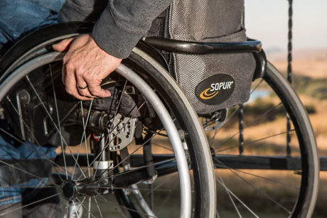Injuries can leave you in a wheelchair